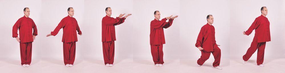 Daoyin Shi Er Fa del profesor Zhang Guangde.