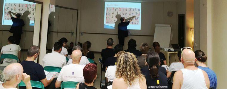 Profesorado de toda España aprende presencialmente conmigo. En Tenerife, con un grupo de instructores del centro Yushan de formación.