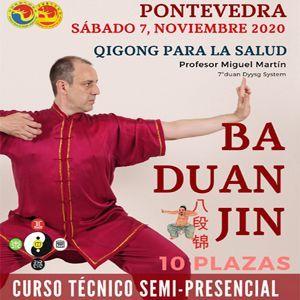 Curso SEMI-PRESENCIAL – Baduanjin en Pontevedra-sábado 7 de noviembre-2020